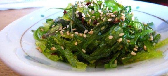zeewier-salade