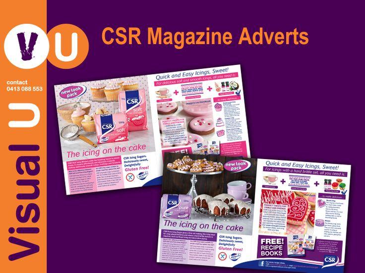 Visual U CSR Magazine Adverts