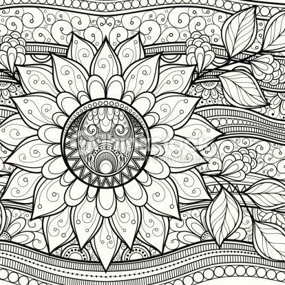 disegni botanici da colorare - Cerca con Google