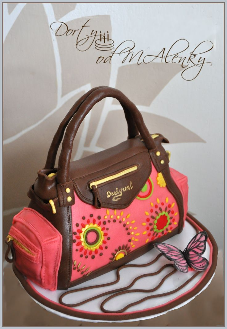 Kabelka Desigual, Cake handbag for women