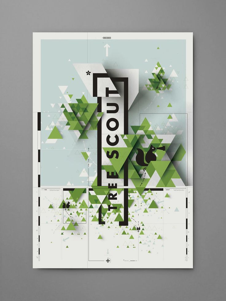 Tree Scout poster - Eric Karnes