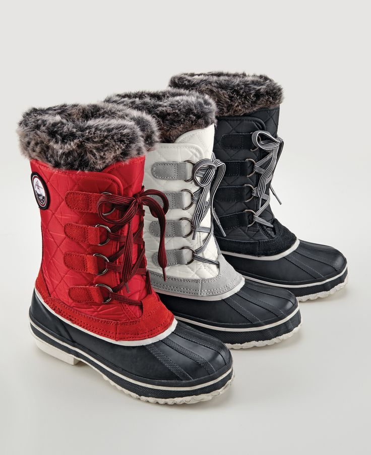 Alpinetek® Women's Winter Boot With Removable Liner