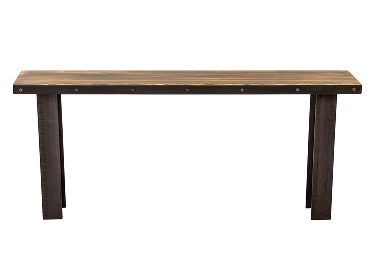 Buy Brooklyn Console Table by CounterEvolution - Made-to-Order designer Furniture from Dering Hall's collection of Contemporary Industrial Console Tables.