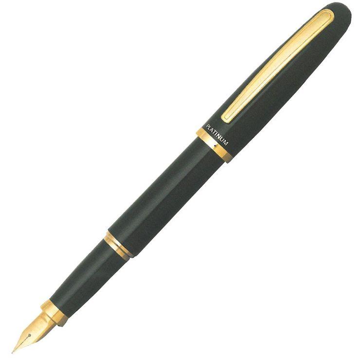 プラチナ万年筆 バランス 細字 ブラック PGB-3000 #1-2 | 万年筆