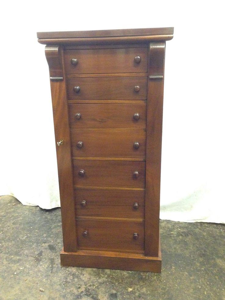 Antique style Wellington chest – Daniel Chapman antique furniture restoration