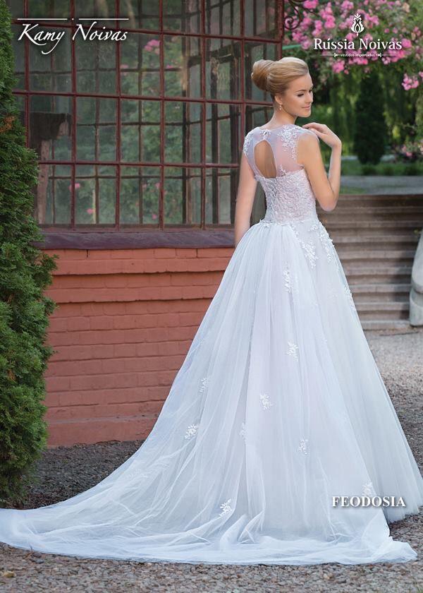Vestido de Noiva - Feodosia - Kamy Noivas