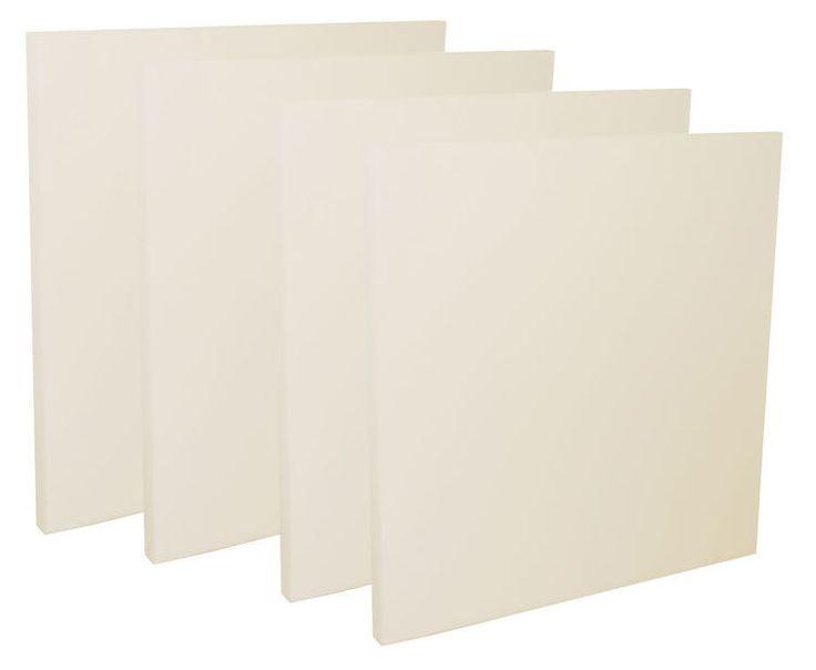 the t.akustik Basotect 50 100/100 White 4pcs - Thomann Sverige