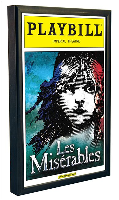 The Basic Playbill Display Frame  $11.95 (I need 3)