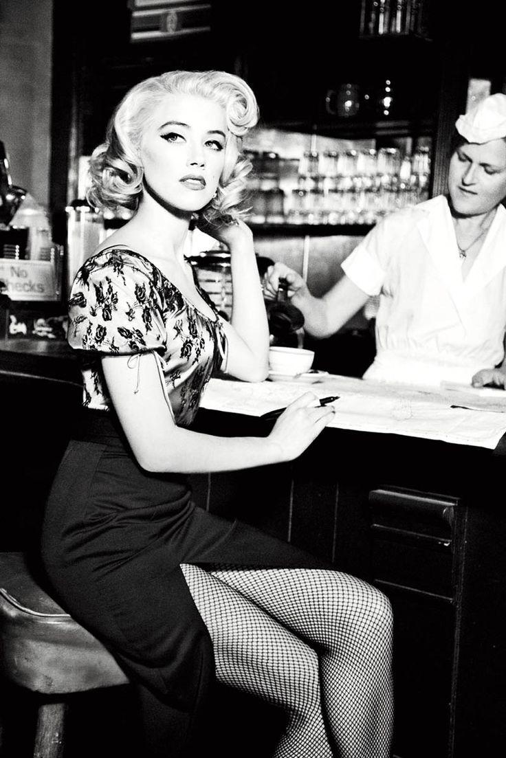 killer: Amber Heard, Style, Vintage, Guess Jeans, Pinup, Pin Up, Amberheard, Photo, Ellen Von Unwerth