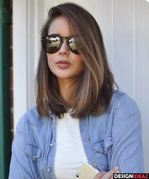 50 Ultra Sizzling Medium Haircuts for Women 2017