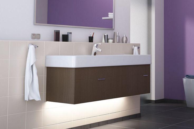 A fürdőszobában is érdemes játszani a színekkel! LED szalag - Paulmann