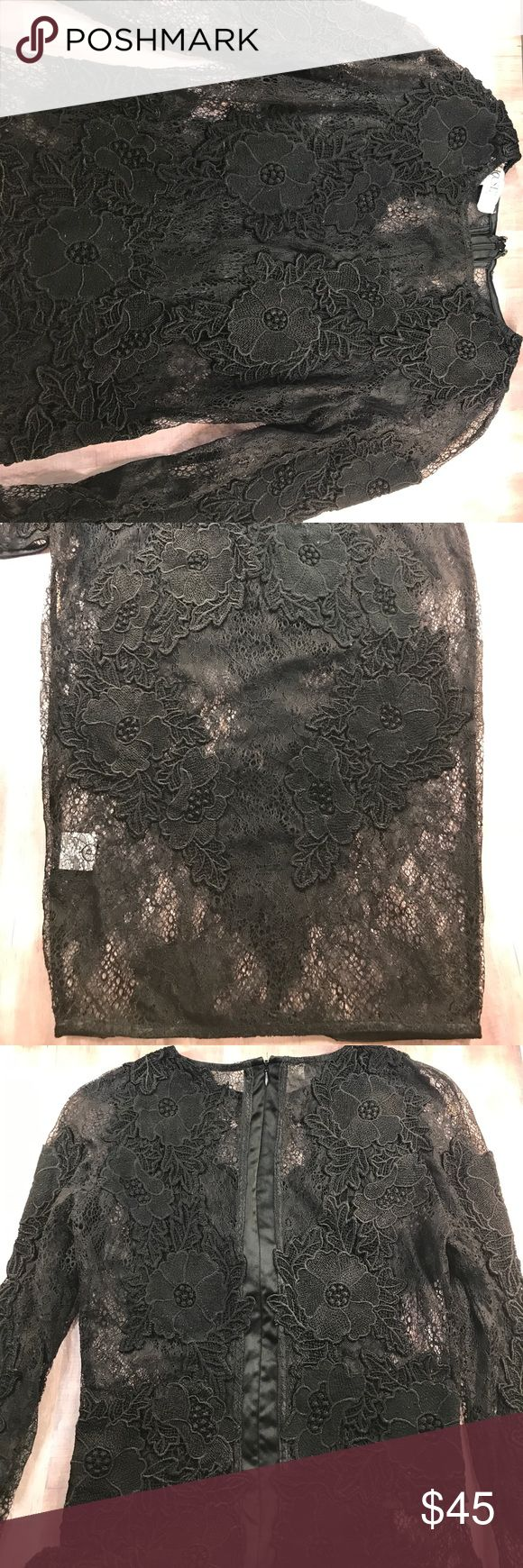 House of CB Nolita lace dress Read: worn before. I know it has some lace holes in the back but they're barely noticeable ( couldn't find them right now when I'm taking pictures) house of cb Dresses Midi