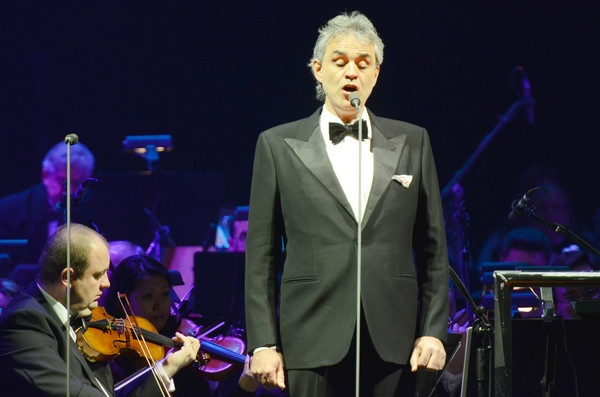 Andrea Bocelli at Amway Center in Orlando