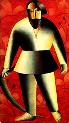 Kazimir Malevich, The Reaper - 1912-13