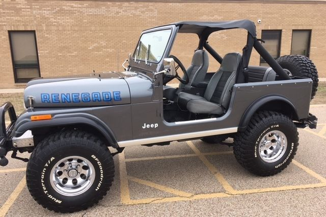 1981 Jeep CJ7 Renegade for sale: photos, technical specifications ...
