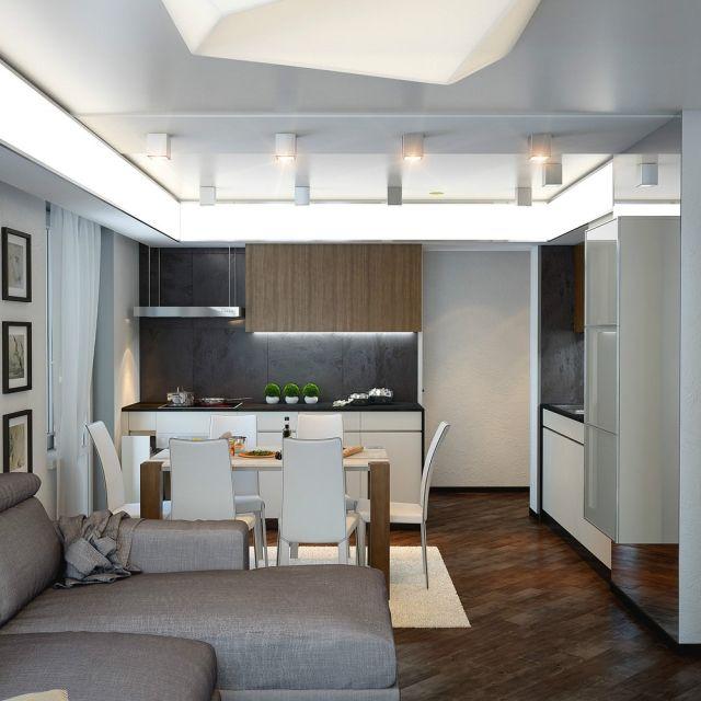 Más de 25 ideas increíbles sobre Küchen einrichten gestalten en - wohnzimmer mit offener küche gestalten