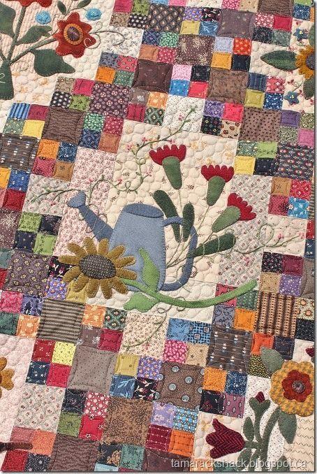 Sunflower Gatherings Quilt | Tamarack Shack | Bloglovin'