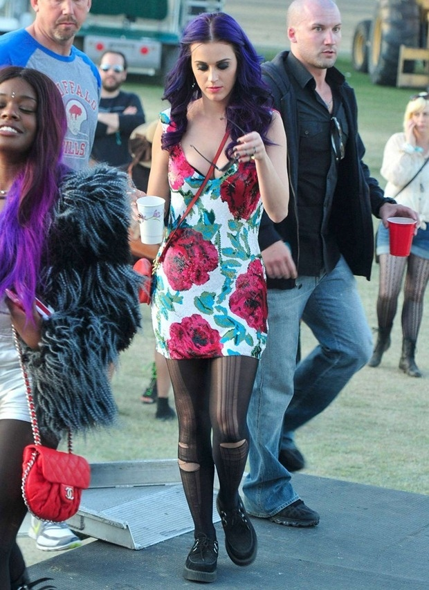 Katy Perry at Coachella 2012