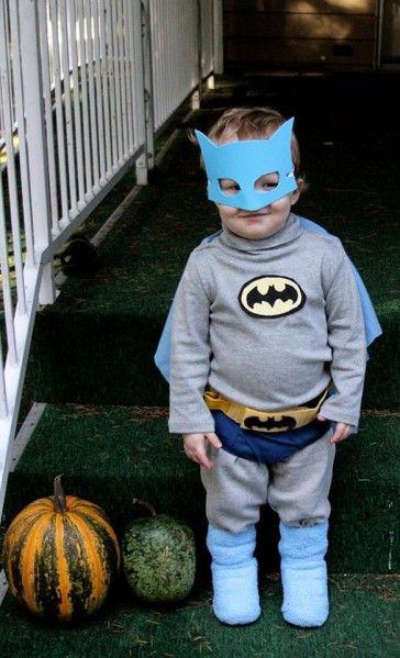 DIY Batman Costume for $3 - dollar store craft