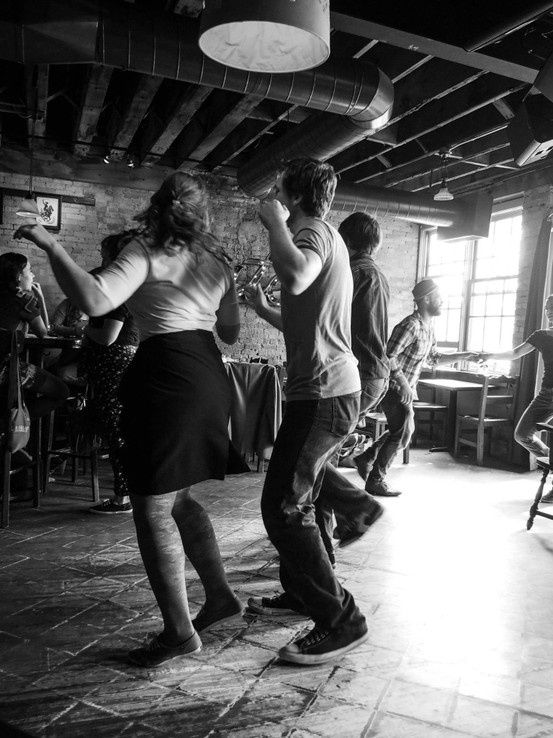 Swing Dance series in progress
