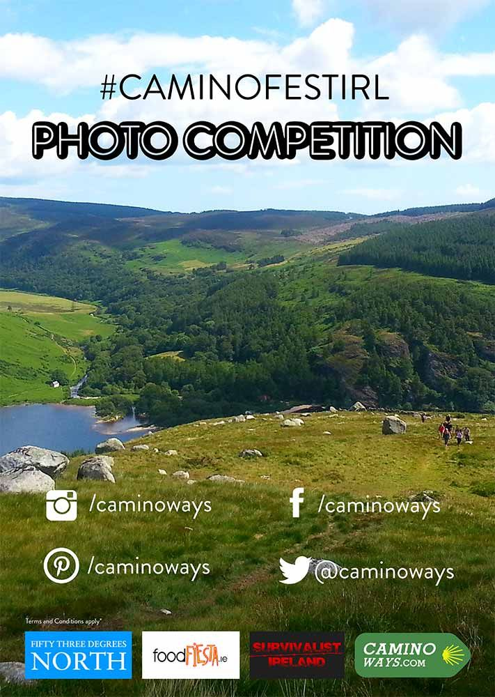 #caminofestirl photo competition! Sunday 27th July Lough Dan #Wicklow #Ireland with fab prizes from CaminoWays.com, 53 Degrees North, FoodFiesta.ie and Survivalist Ireland