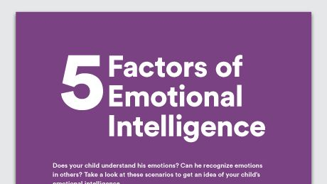 Graphic of 5 factors of emotional intelligence