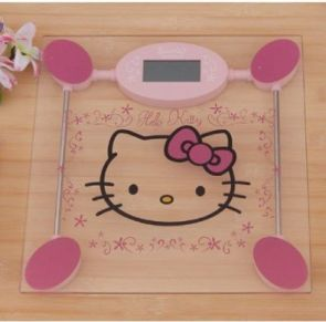 #Hello #Kitty digital bathroom scale