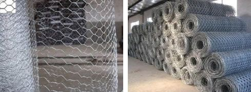 ProductsYou location: Home » Products > Hexagonal wire mesh Hexagonal wire mesh chicken wire mesh  Hexagonal wire mesh chicken wire mesh   Hexagonal wire mesh chicken wire mesh   Wire materials: Hexagonal wire mesh is manufactured in galvanized iron or PVC coated wire.   Assortments Available:   Hex. wire mesh in normal twist   Hex. wire mesh in reverse twist   Hex. wire mesh in bidirectional twists   Electro Galvanized before Weaving   Electro Galvanized After Weaving