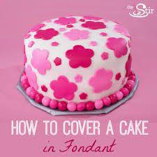 Resultado de imagen para fondant cakes for beginners