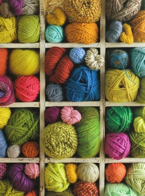 Knitting Wool Storage Ideas : Best yarn images on pinterest color palettes