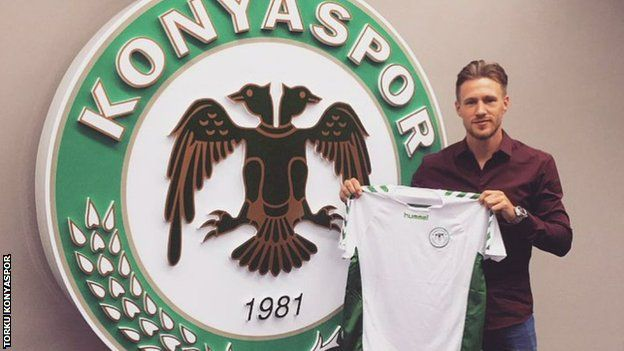 Barry Douglas switches from Lech Poznan to Konyaspor