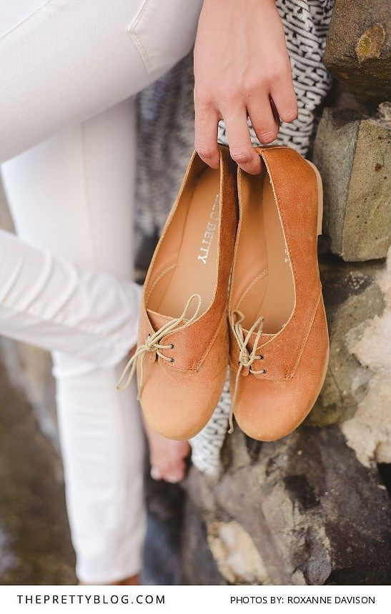 We Love Blue Betty's Leather Shoes! Photography by Roxanne Davison