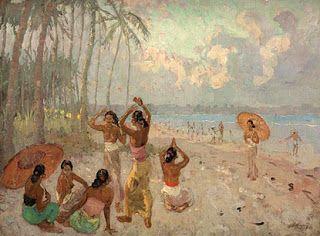 Adrien Jean Le Mayeur de Merprès - Pantai Bali