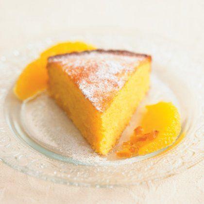 Ανάλαφρο κέικ πορτοκάλι