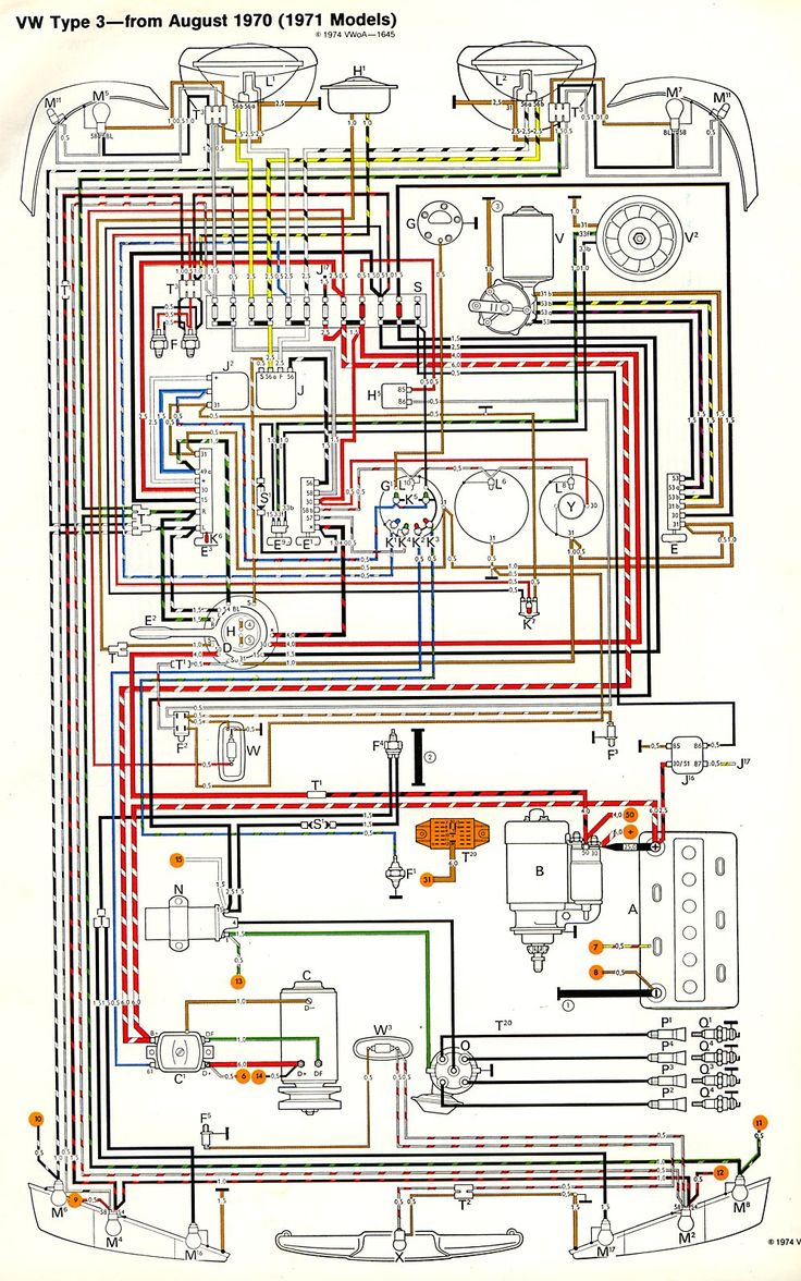 1971 Type Iii Wiring Diagram