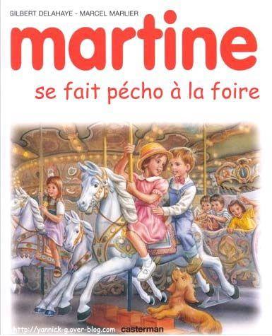 Martine-se-fait-pecho-a-la-foire-parodie-livre