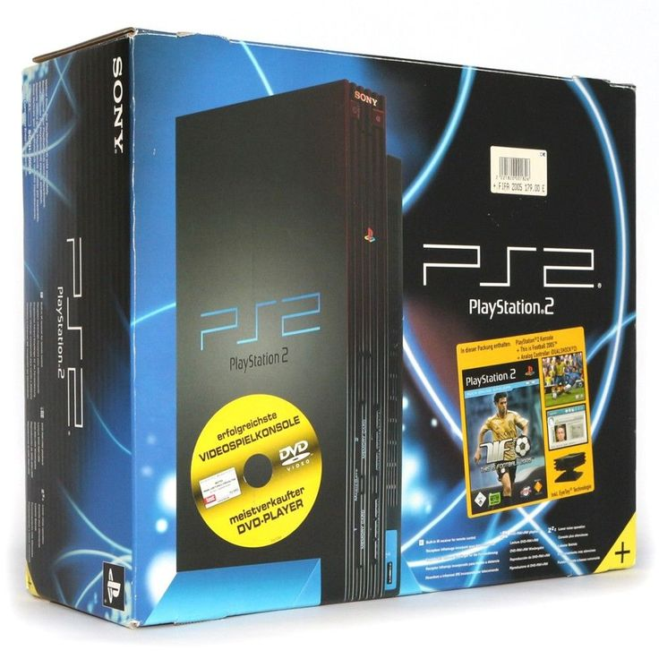 PS2 console black + This is Football 2005 + Eye Toy Camera + official pad boxed: $177.99 End Date: Saturday Mar-31-2018 22:31:38 PDT Buy It…