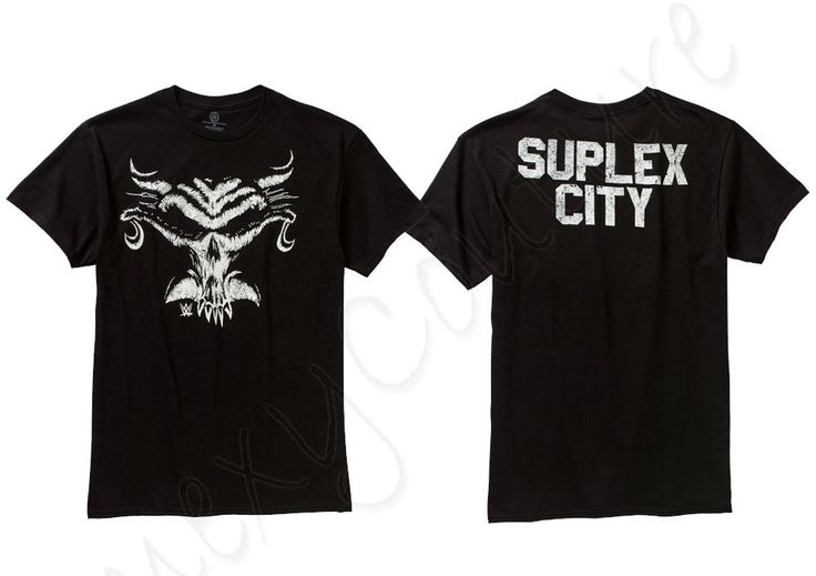 NWT Mens WWE Wrestling BROCK LESNAR Skull Logo Suplex City Graphic Tee T Shirt - http://bestsellerlist.co.uk/nwt-mens-wwe-wrestling-brock-lesnar-skull-logo-suplex-city-graphic-tee-t-shirt/