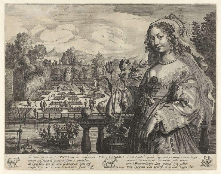 Springtime (Ver Veneris), Salomon Savery, 1604 - 1683