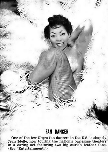 Fan Dancer Jean Idelle - Jet Magazine, February 5, 1953 | Flickr - Photo Sharing!