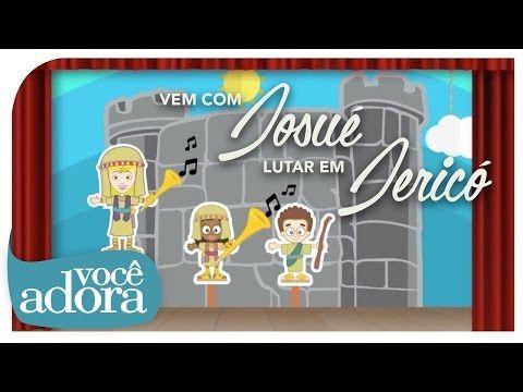 Vem com Josué Lutar em Jericó - Jessyca Kids (Video Oficial) [DVD Retrô] - YouTube