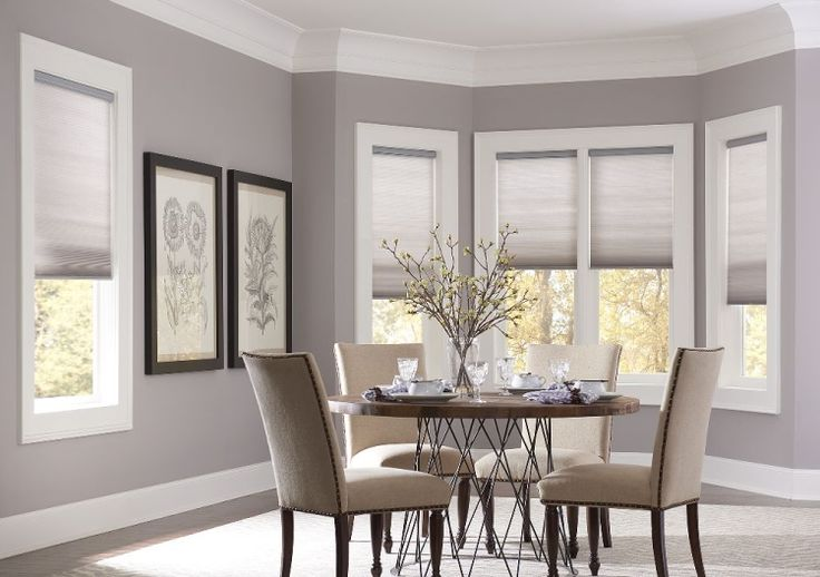 Just found the perfect window treatments!! - Blinds.com. –  Economy Light Filtering Cellular Shades #homedecor #blinds #cellular-shades