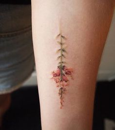 This incredible snapdragon tattoo. | 21 Botanical Tattoo Designs You're About To Be Obsessed With