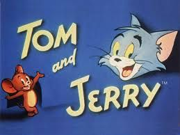 Tom & Jerry.  I know this may sound weird, but I loved Tom more than Jerry.  Jerry was very annoying and spiteful!  I always hoped that Tom would catch Jerry and eat him!  Or at least catch him once and for all! lol.