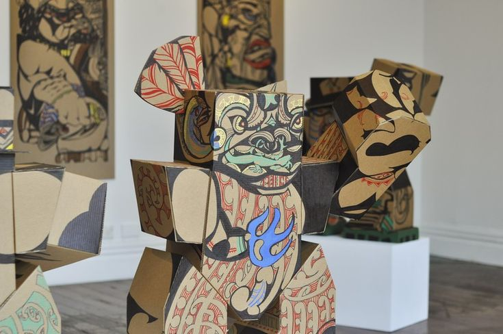 A nod to the past: Atua, transformer and the kaupapa of Reweti Arapere | Enjoy Gallery