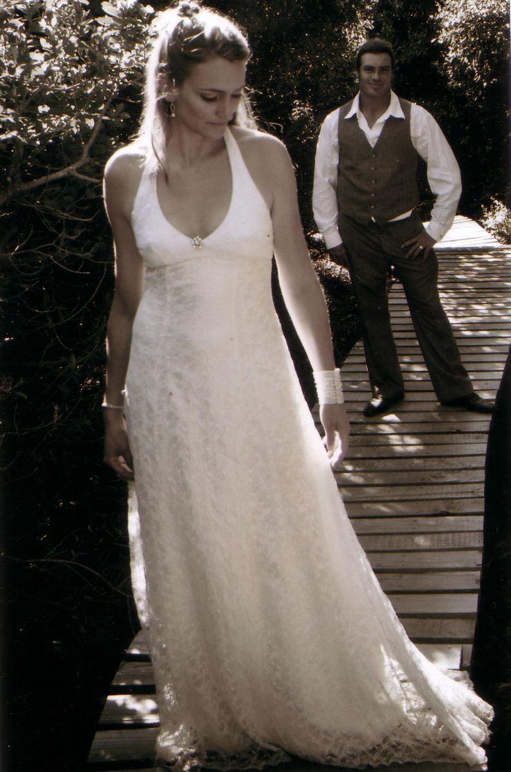 Mystic Rose....simple but elegant wedding dress