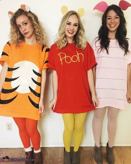 Pooh Bear, Piglet and Tigger – Halloween Costume Contest at Costume-Works.com
