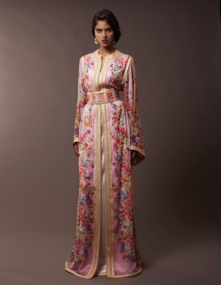 impressive designs of moroccan kaftan abaya designs (6)