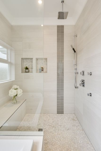 Custom shower in vancouver using full schluter curb base for Bathroom ideas vancouver