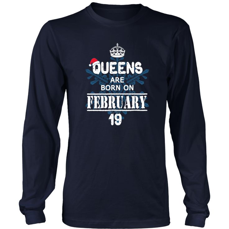 Queens Are Born On February 19 Hoodie Tank-Top